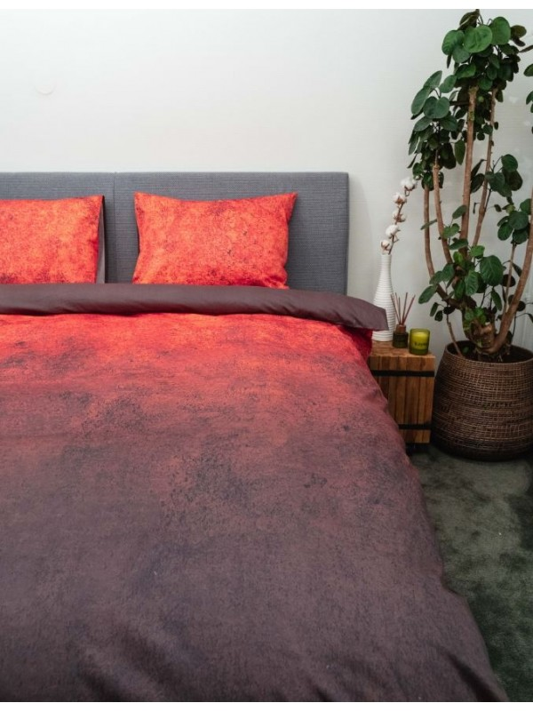 Kayori Chai - Bettwäsche - Baumwolle-satin - Rot