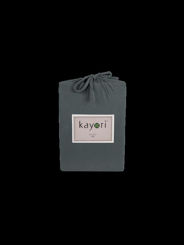 Kayori Kyoto - Spannl. Topper -Jersey - Anthra.