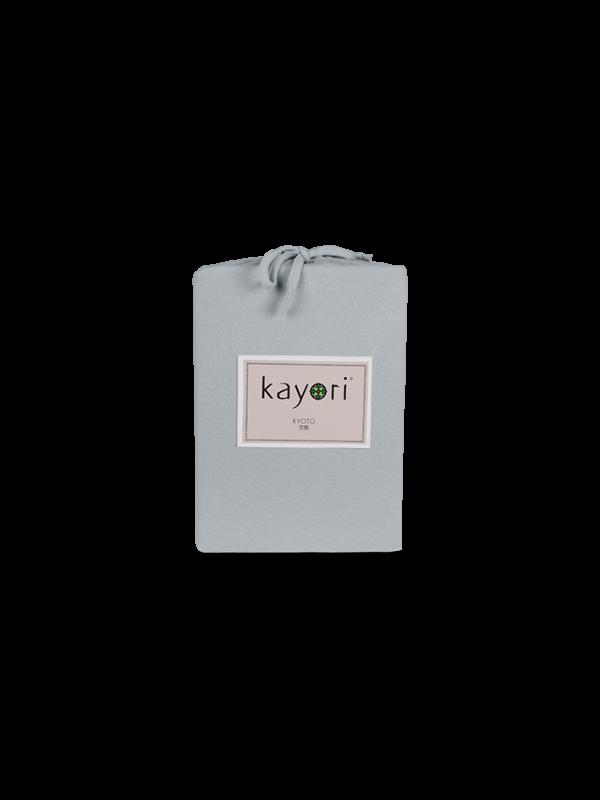 Kayori Kyoto - Spannlaken - Jersey - Silbergr.