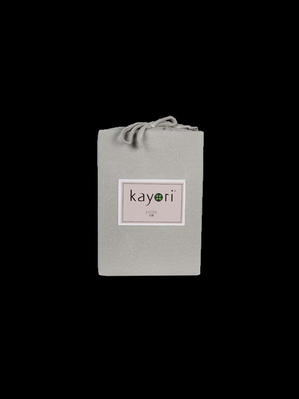 Kayori Kyoto - Spannl. Topper - Jersey - Taupe