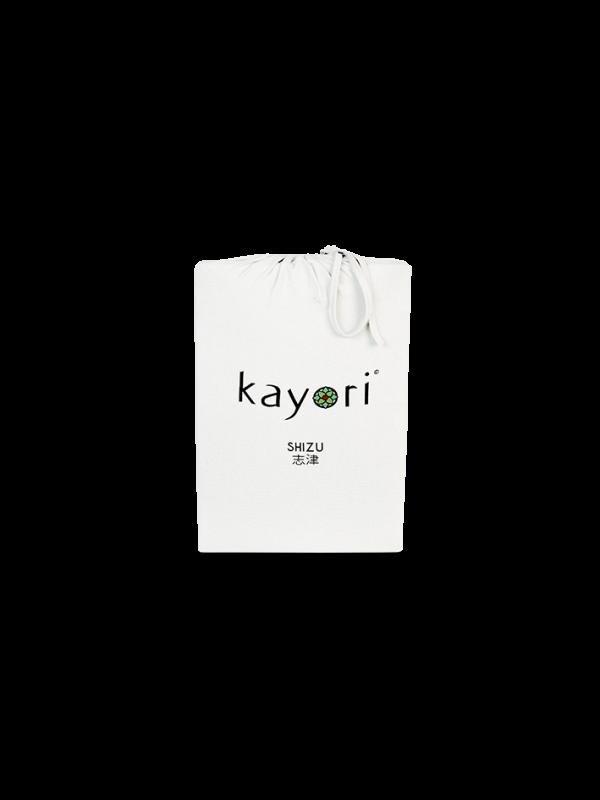 Kayori Shizu Topper Spannbettlaken Jersey - Offwhite