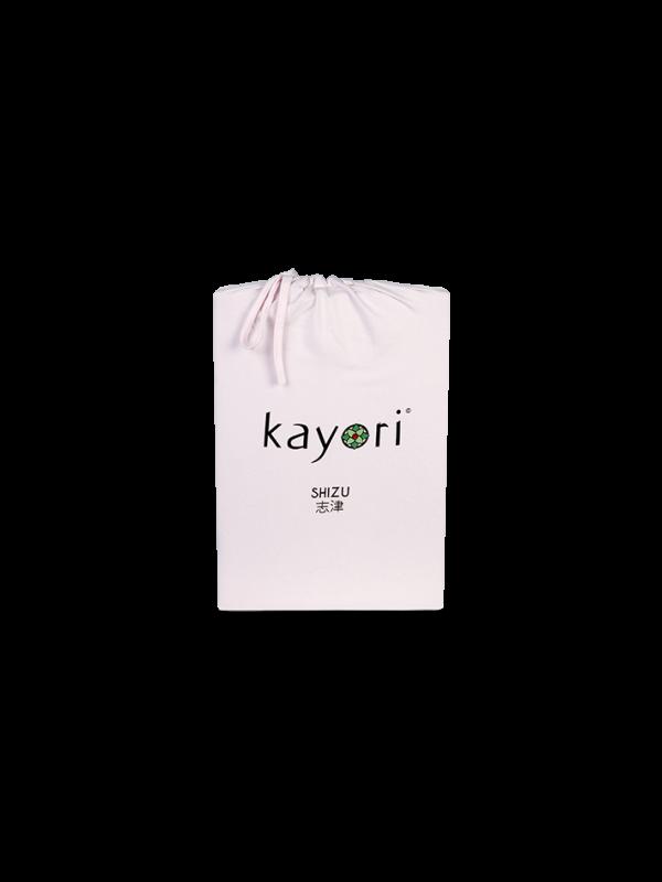 Kayori Shizu Splittopper Spannbettlaken Jersey - Rosa