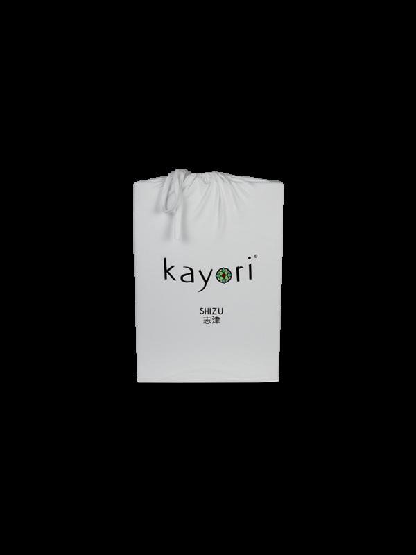 Kayori Shizu Spannbettlaken Jersey - Silbergrau