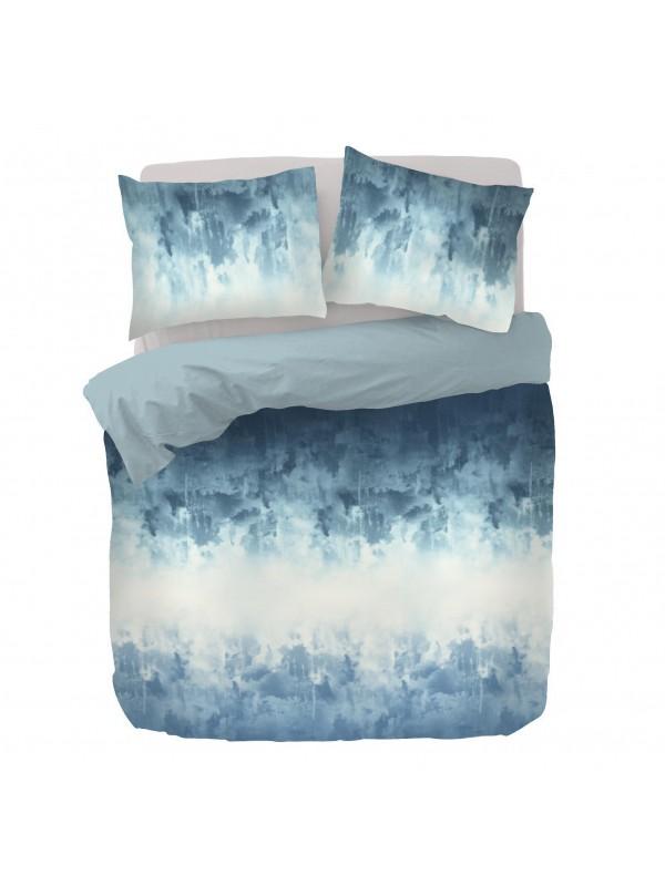Kayori Aozora - Bettwasche - Baumwolle - Blau