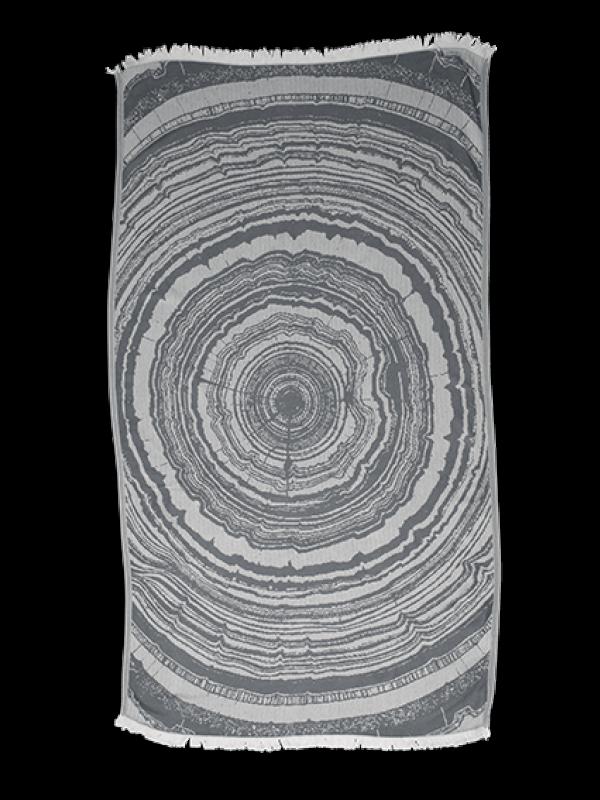 Kayori - Nobu - Hamamtuch - 100x180 - Bambus - Anthraziet