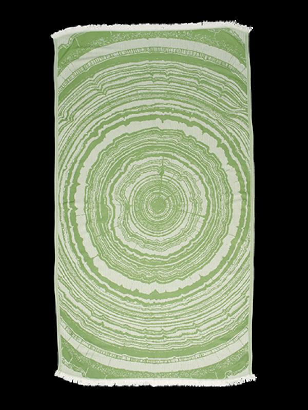Kayori - Nobu - Hamamtuch - 100x180 - Bambus - Olivgrün