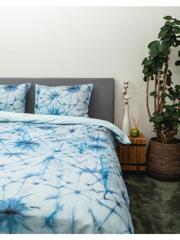 Kayori Uki - Bettwasche - Baumwolle-satin - Blau