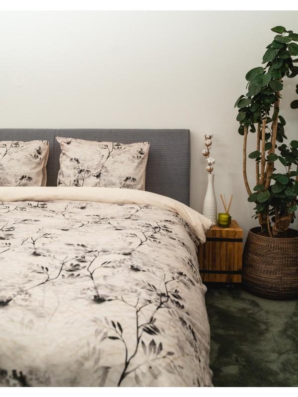 Kayori Ume - Bettwasche - Baumwolle-satin - Natur