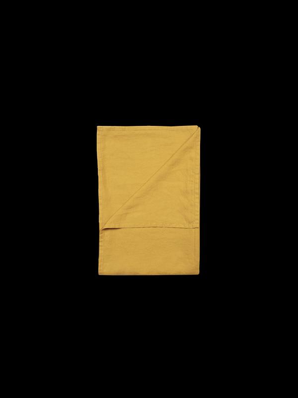 Kayori Nikko - Tagesdecke - Leinen - 180/260 - Gold