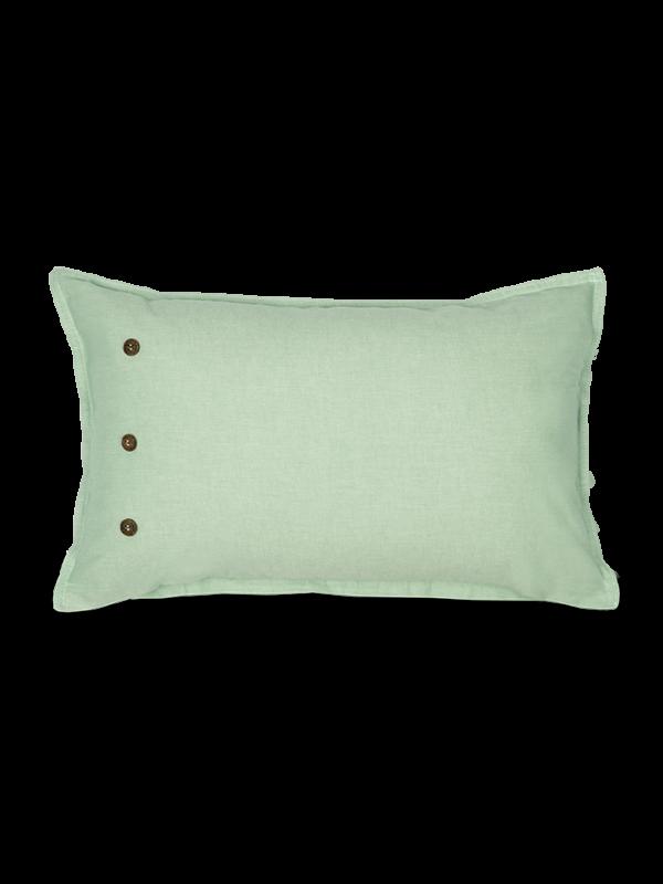 Kayori Sari - Kissenbezuge - Baumwolle - 30/50 - Grün