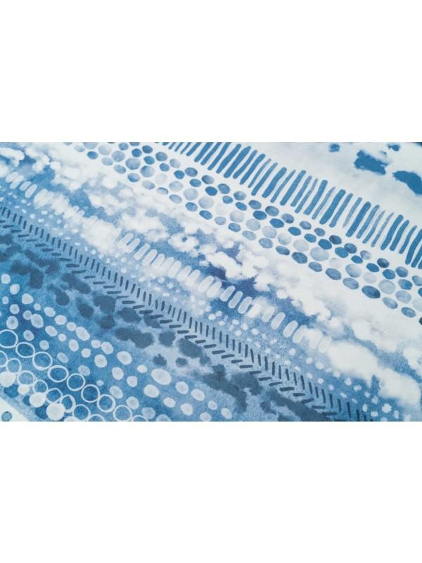 Kayori - Dashi - Bettwäsche - Baumwolle-satin - Blau