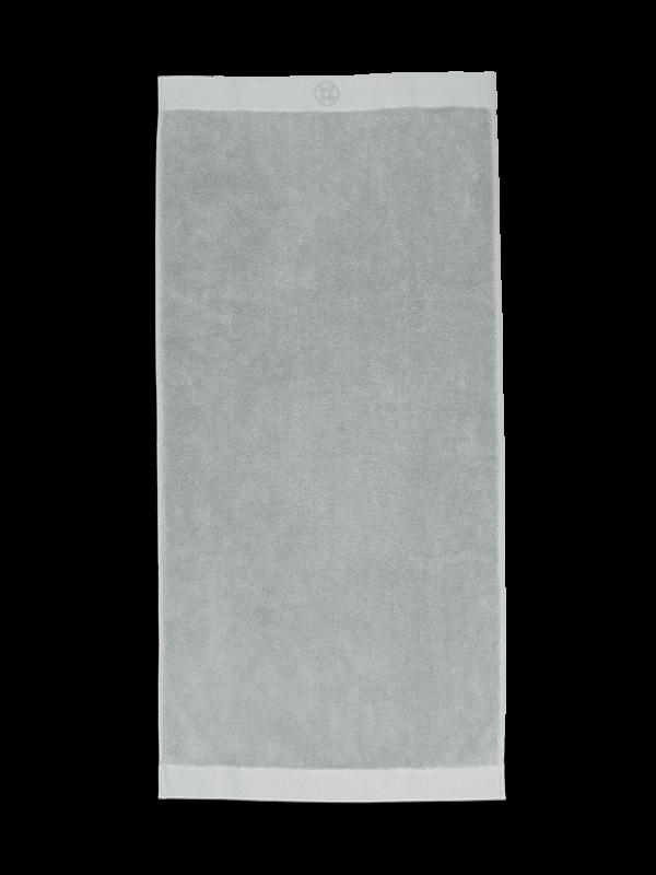 Kayori Yu - Handtuch - 50x100 - Silbergrau